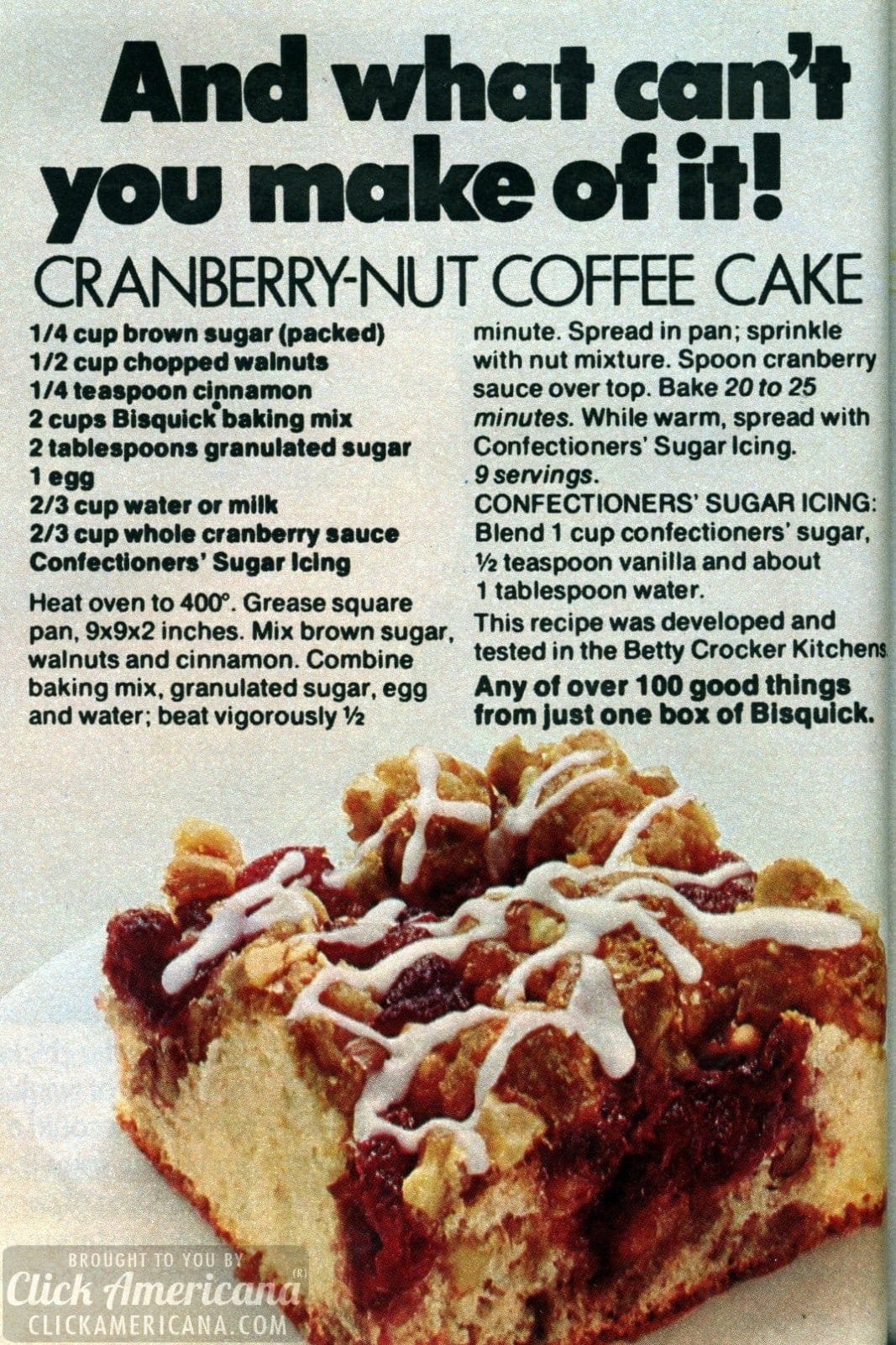 Cranberry-Nut Coffee Cake (1974)
