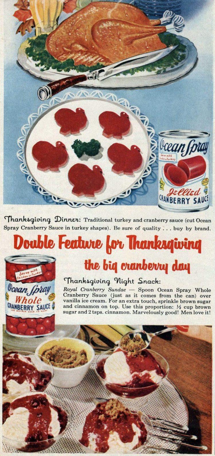 cranberry sauce cutouts