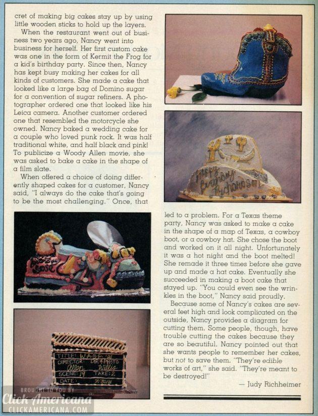 custom cake designs - dynamite - march 1982 (1)