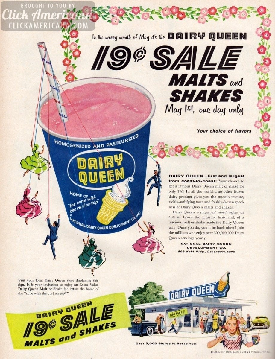 The Dairy Queen 19-cent sale (1956)