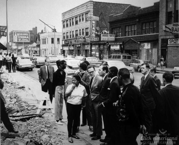 damage done as result of 1967 Detroit riot