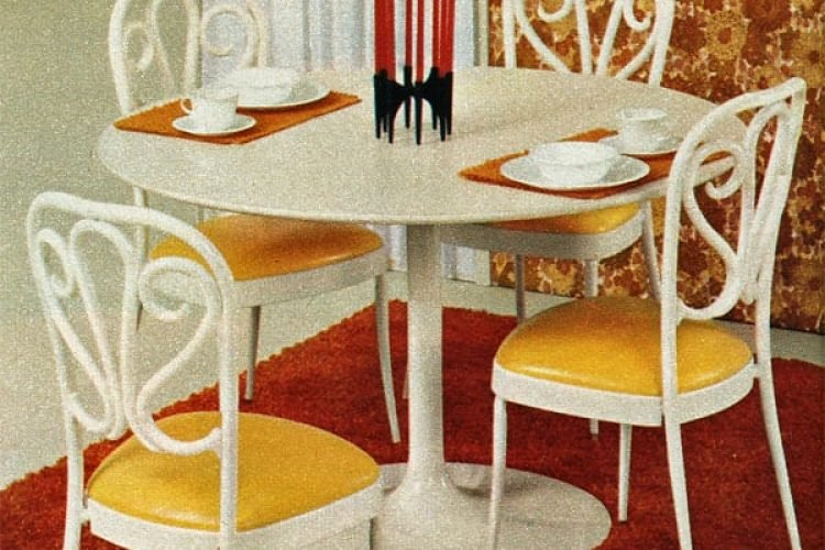 Dinettes & dining tables from Daystrom (1972) - Click Americana