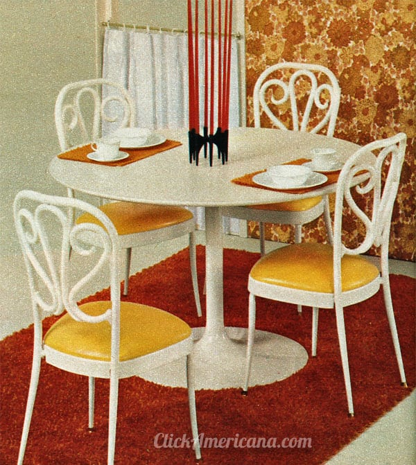 Dinettes Amp Dining Tables From Daystrom 1972 Click