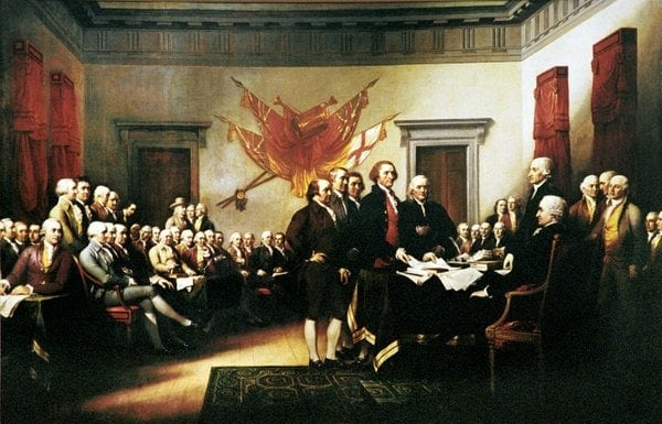 The Declaration of Independence (1776)