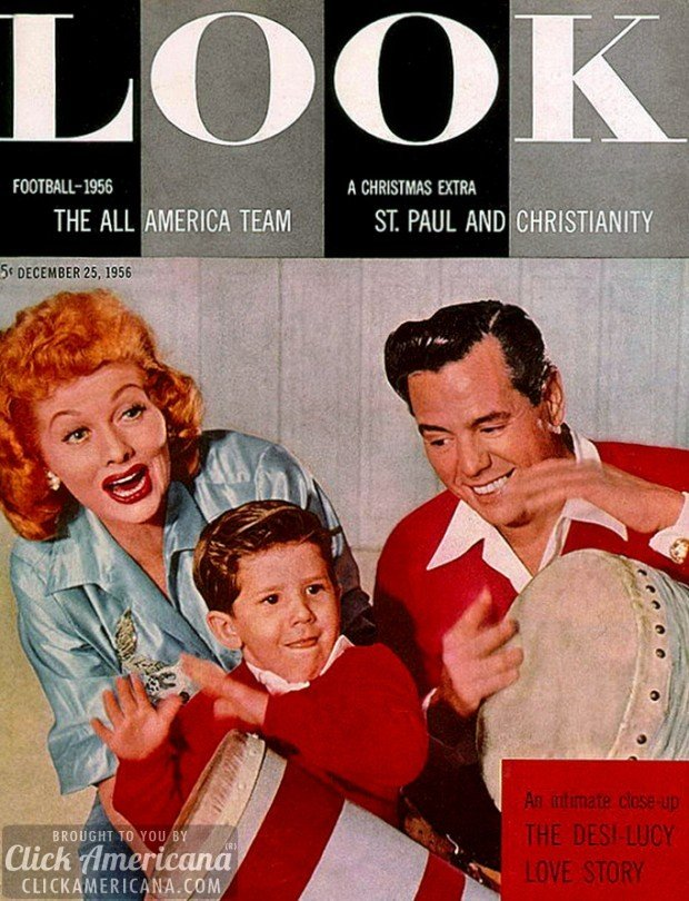 Lucille Ball cover - Look Magazine, December 1956