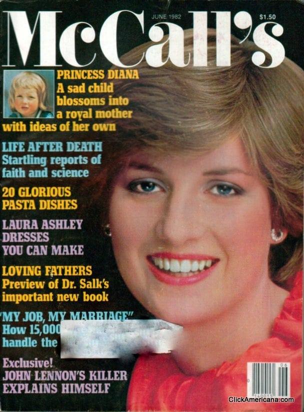 Princess Diana On American Magazine Covers Click Americana