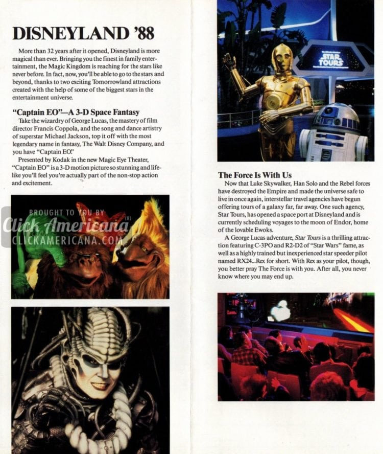 A George Lucas adventure, Star Tours