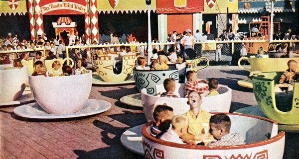 Disneyland opens (1955)