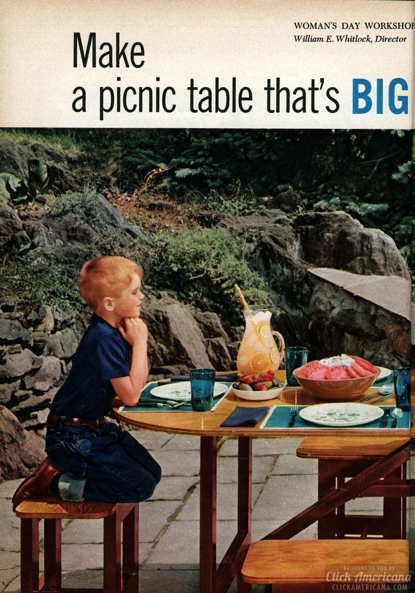 A DIY picnic set (1955)