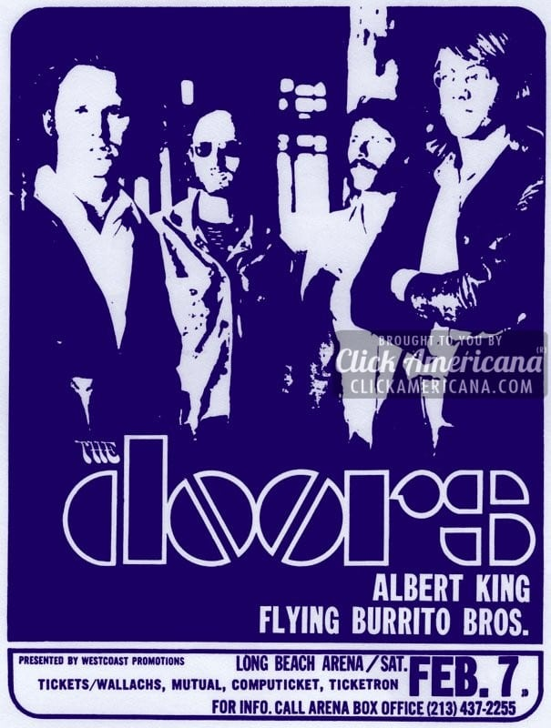 Concert review: The Doors were somewhat a jar (1970)