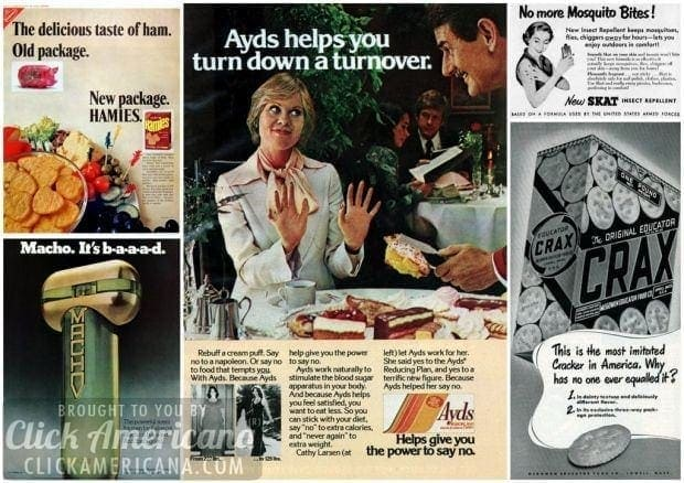 What were they thinking? 12 terrible vintage product names