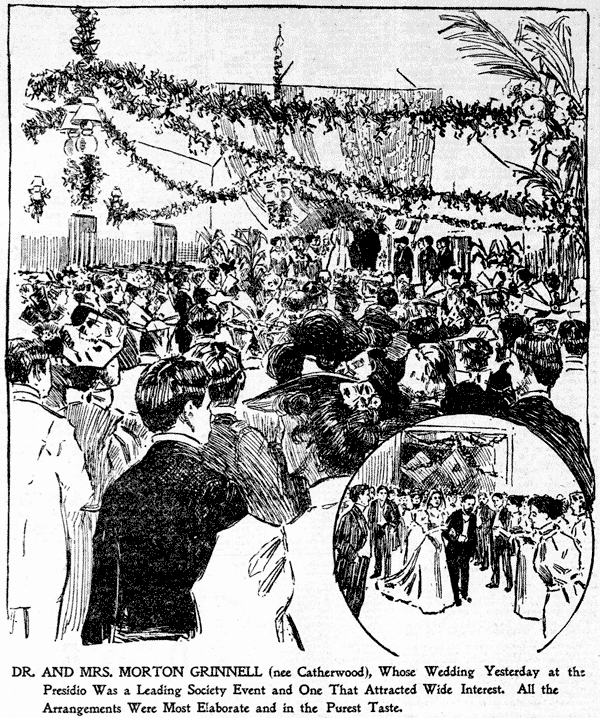 Wedding bells at the Presidio (1896)