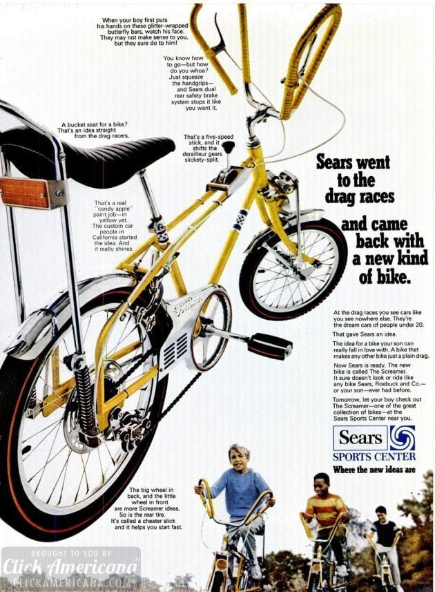 3 of the hottest bikes for kids (1968-1970)