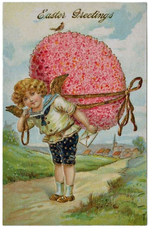 Easter greetings card (1907)