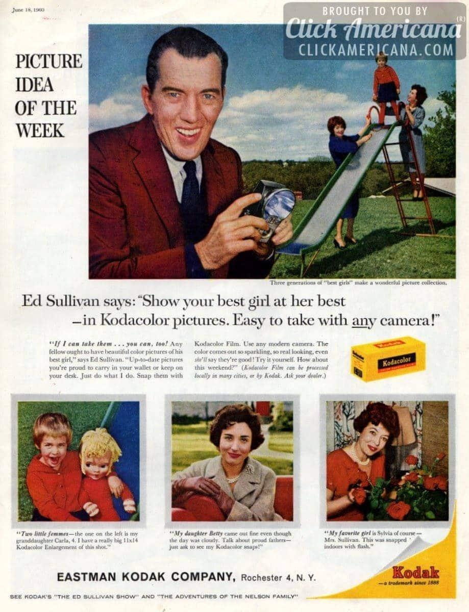 Ed Sullivan's picture idea of the week (1960)