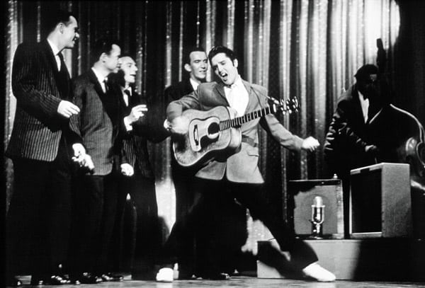 Presley signed by Ed Sullivan (1956)