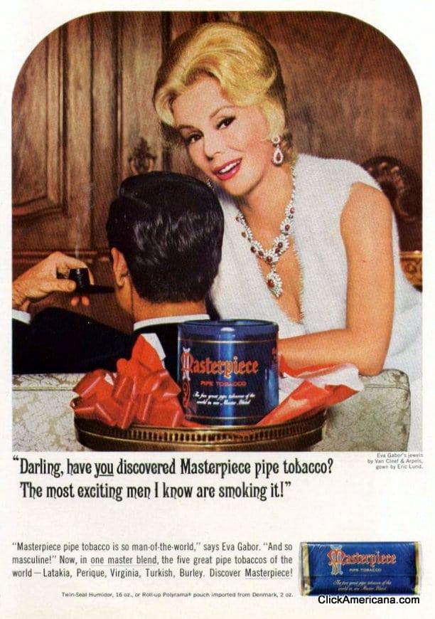 Eva Gabor for Masterpiece Tobacco (1965)