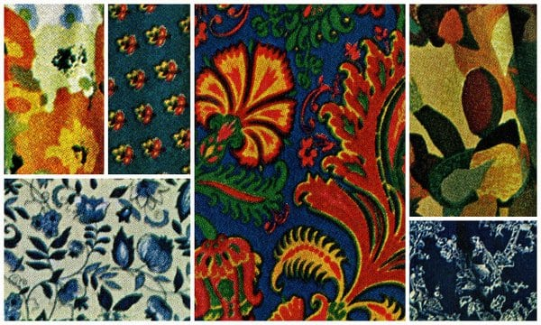 Fresh fabric patterns for the sixties (1965)