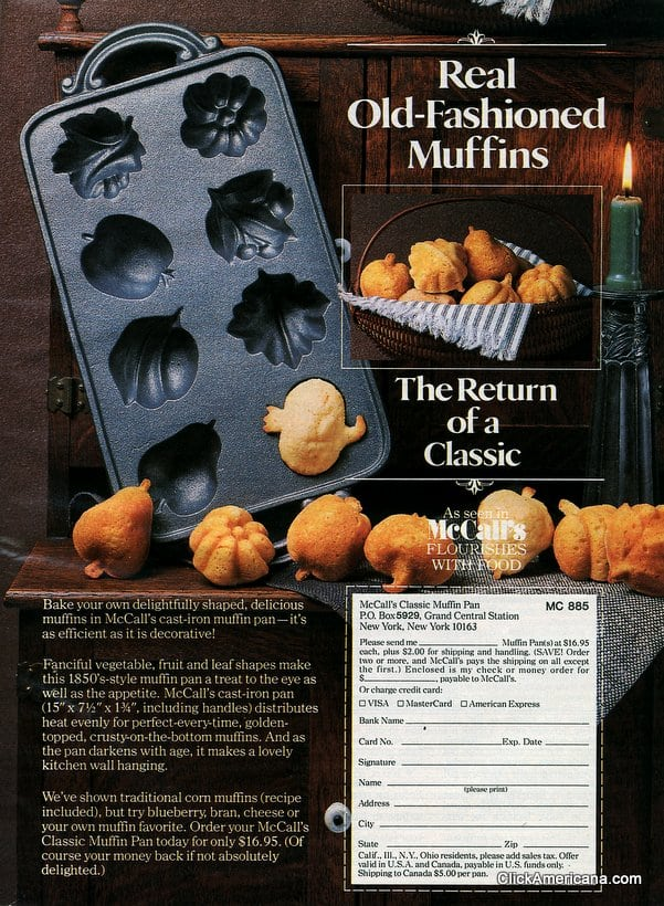 Make muffins in fun fall shapes (1985)