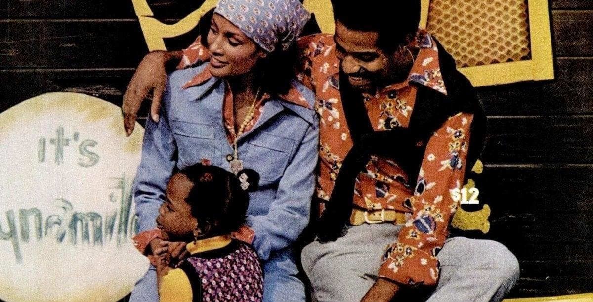 family in 1974