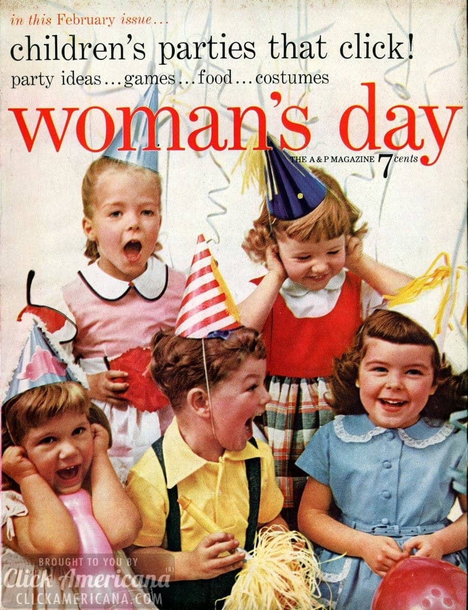 Woman's Day magazine cover: February 1955