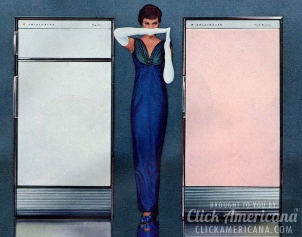 How to be a perfect fifties housewife: Refrigerator 1957