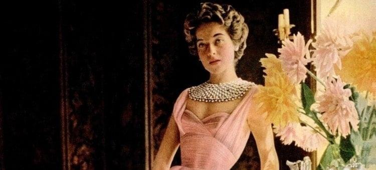 fifties paris fashion clothing dresses