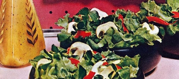 Dressing makes the salad (1950)