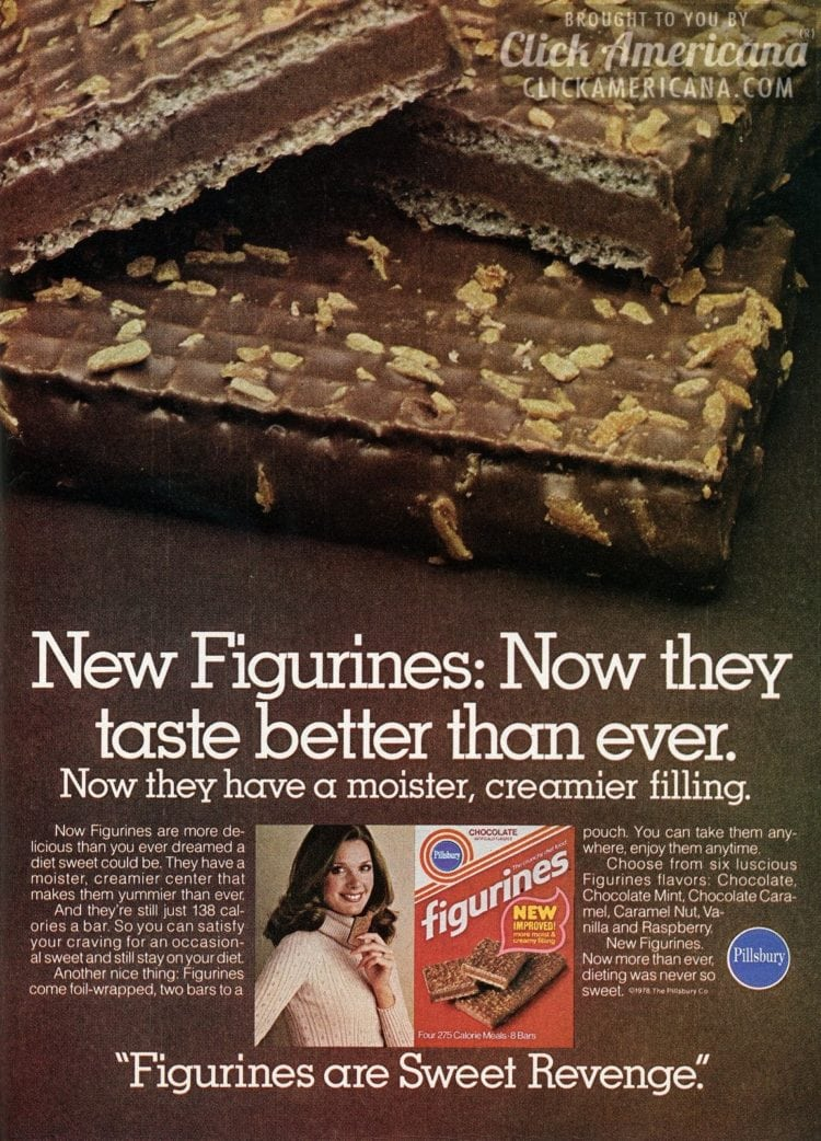 New Figurines. Now they taste better than ever (1978)