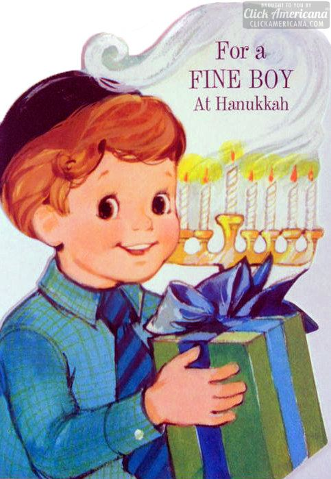 fine-boy-at-hanukkah-vintage-card