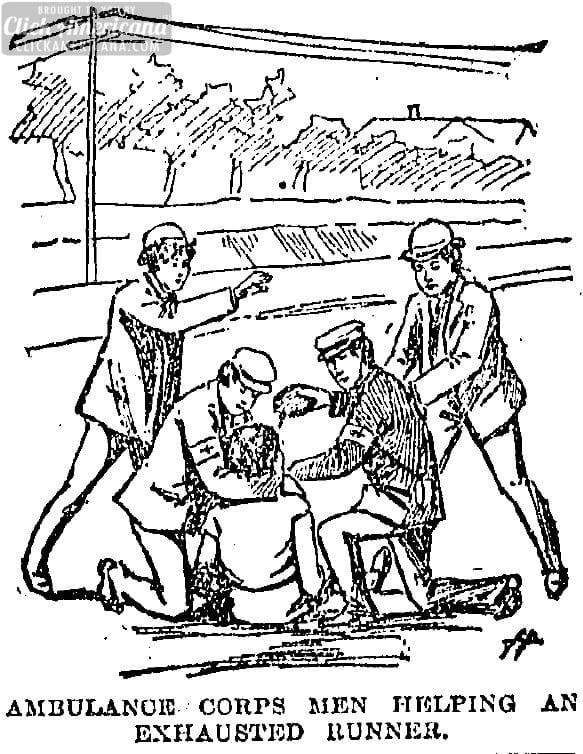 recap of the first boston marathon  1897