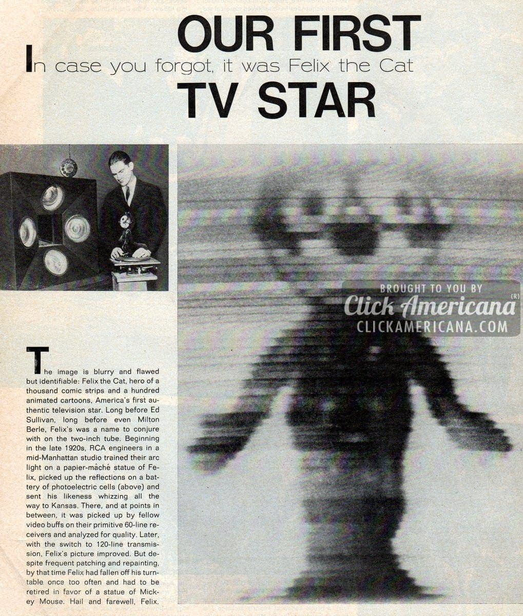 first-tv-star-felix-cat-vintage-1971