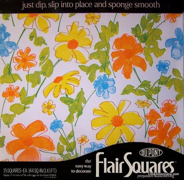 Vintage Daisy Daisy Flair Squares