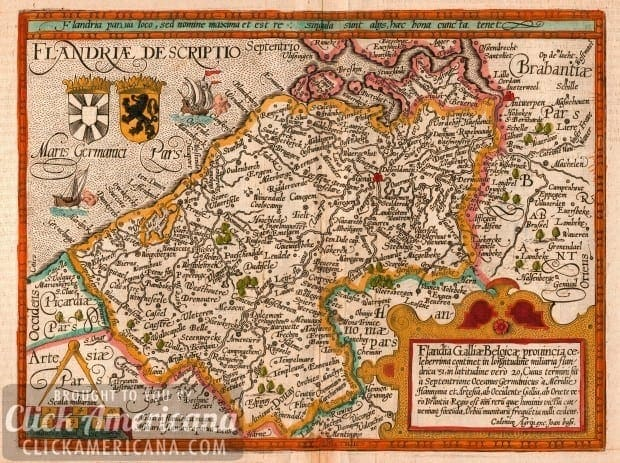 About the ancient territory of Flanders (1915)