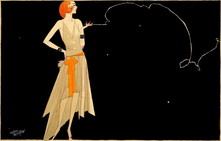 Flapper artwork by Russell Patterson