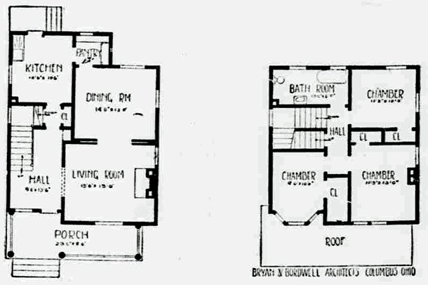 6 Room Cottage Style Home Plan 1911 Click Americana