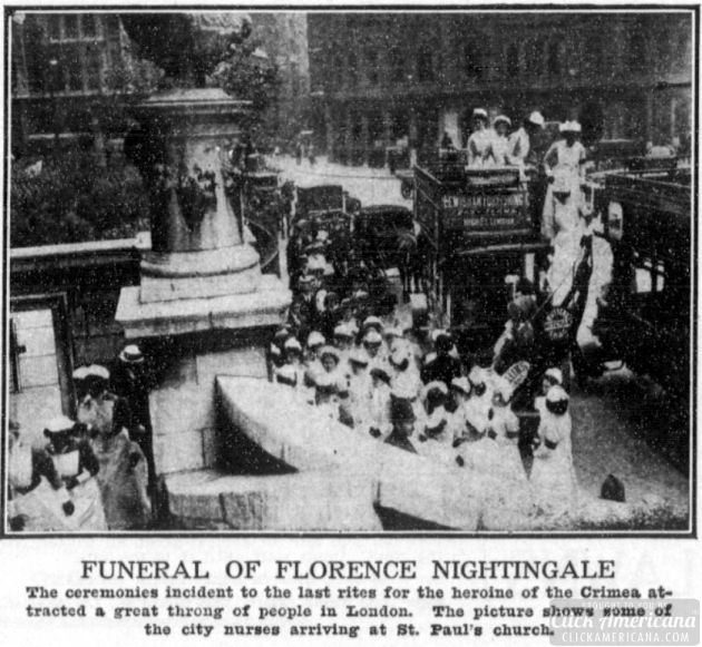 florence nightinggale funeral