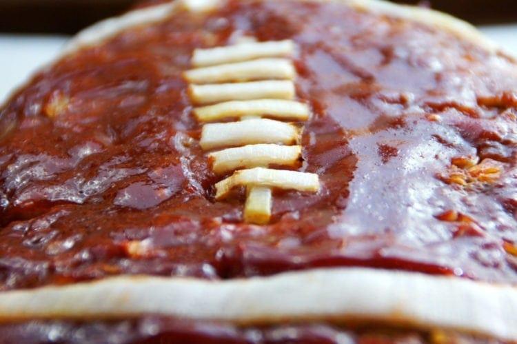 Football meatloaf