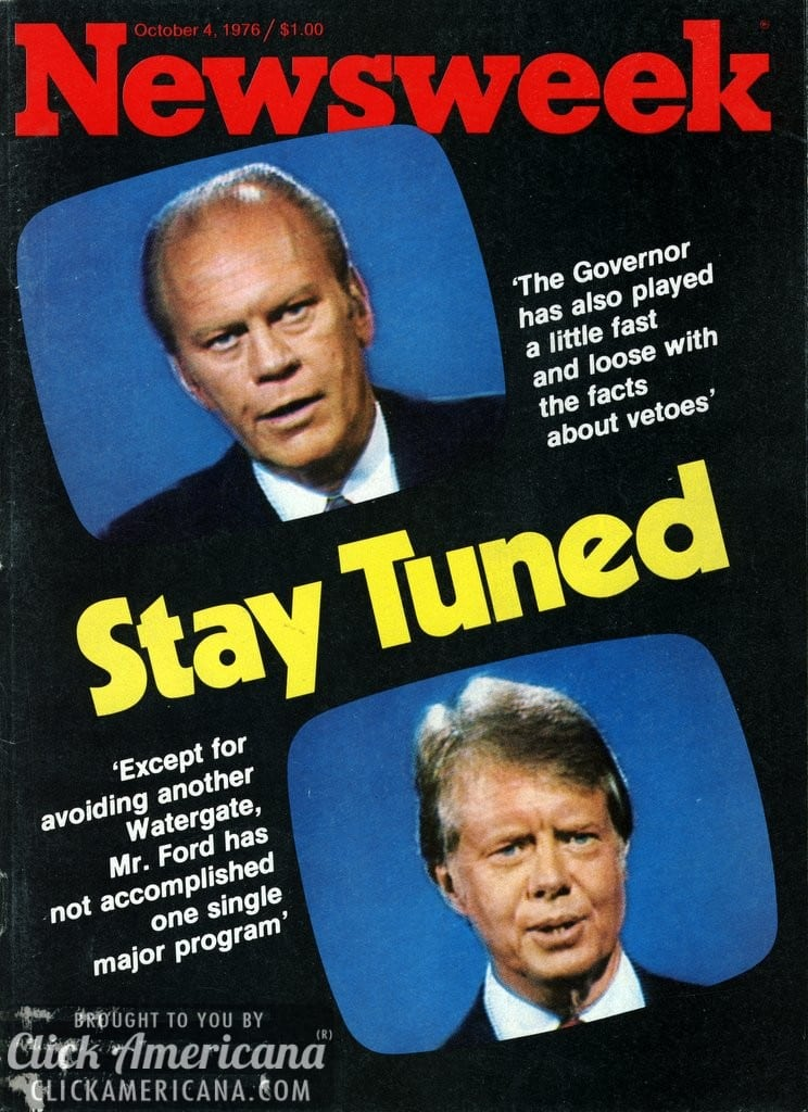 Ford vs Carter: Voters rate the presidential debates (1976)