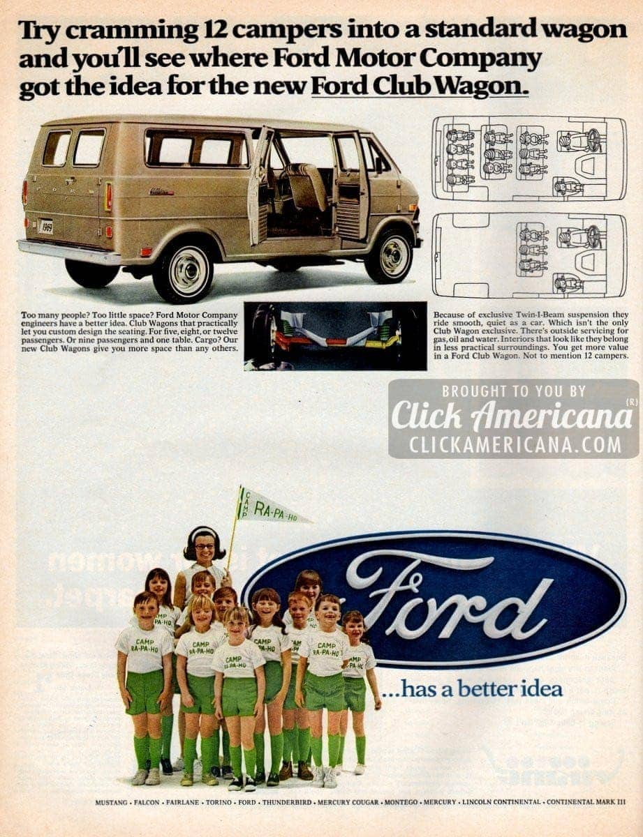 The new Ford Club Wagon (1968)
