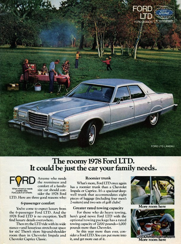 Ford LTD and LTD II (1977) - Click Americana