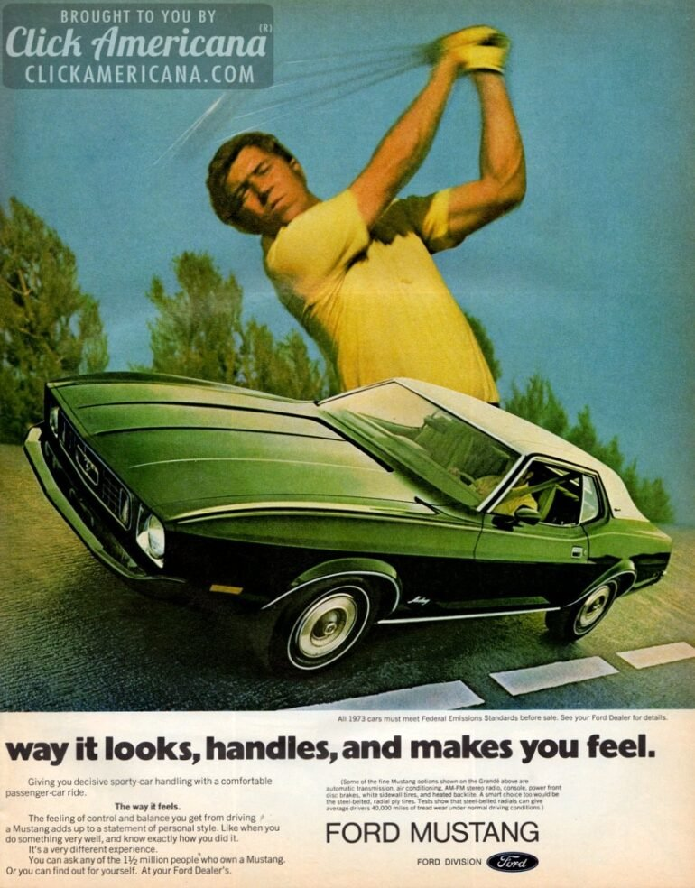 online retailer 8ad48 9f2f1 3 reasons the 1973 Ford Mustang is different