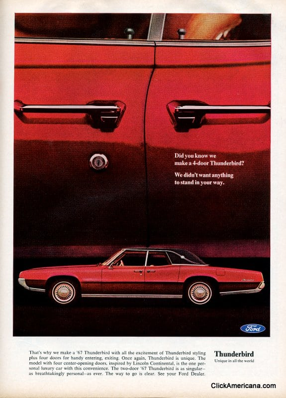 1967 Ford Thunderbirds