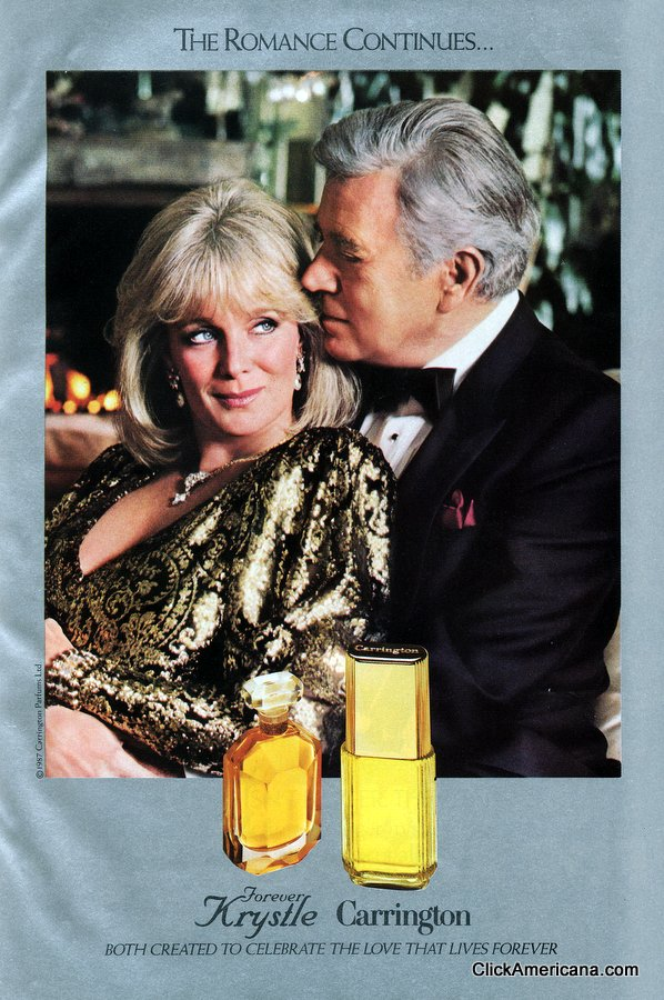 Forever Krystle & Carrington fragrances (1986-1987)