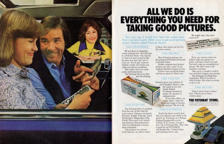 Fotomat - Everything you need for taking good pictures (1977)