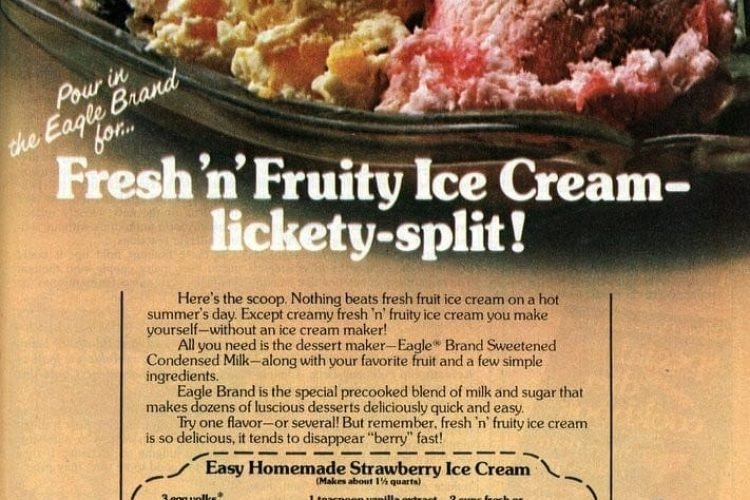 Fresh N Fruity Easy Homemade Strawberry Ice Cream 1982