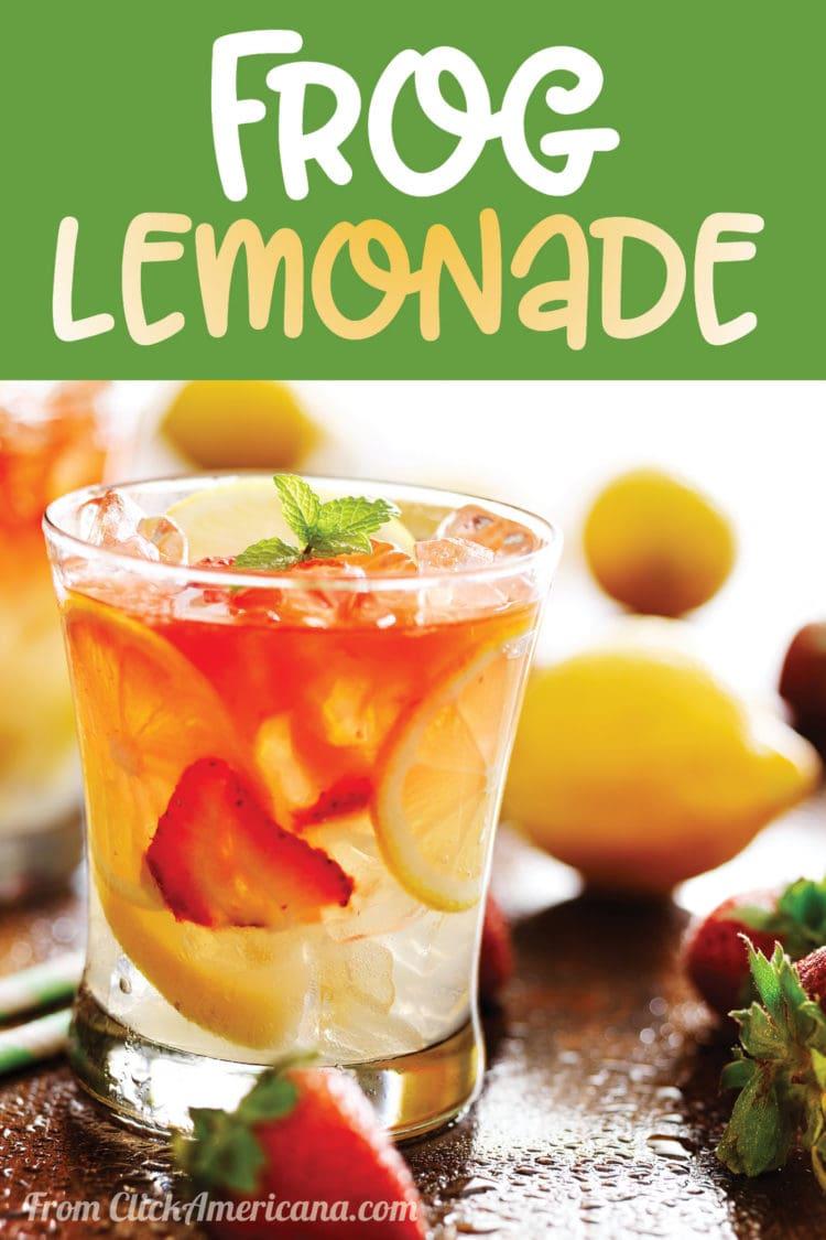 How to make frog lemonade