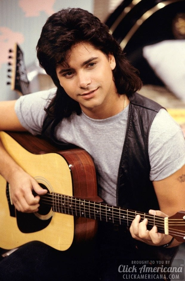 John Stamos' teen idol transformation (1989)