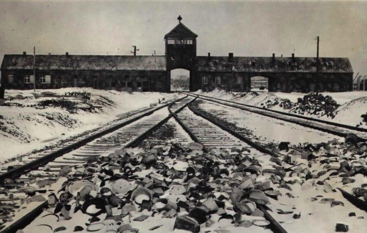 Gate - Auschwitz-Birkenau