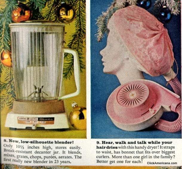 The latest small appliances & gadgets from 1961